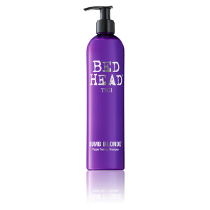 BED HEAD Dumb Blonde Purple Toning Shampoo 400 ml