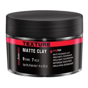 Style Sexy Hair MATTE CLAY Texture Clay 50 ml