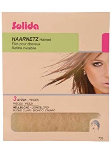 Solida Transparent-Netze 3er dunkelblond