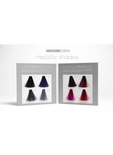 AWESOMEcolors Metallic shades